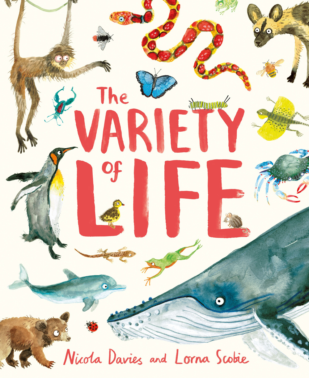 OUT NOW! The Variety of Life - Lorna Scobie Illustration