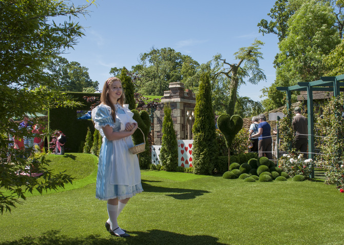 alice in wonderland garden. alice in wonderland garden with sanctuary synthetics silver medal winner 2011 designer:mark o\u0027 loughlin