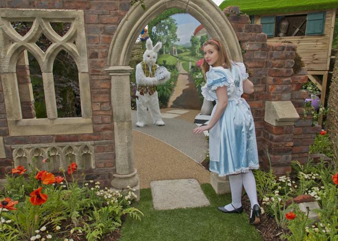Alice In Wonderland Garden With Sanctuary Synthetics Silver Medal Winner  2011 Designer:Mark Ou0027 Loughlin